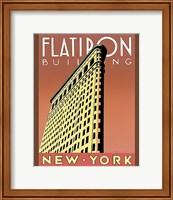 Framed Flatiron Building