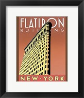 Framed Flatiron Building