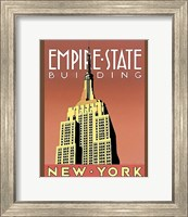 Framed Empire State Building