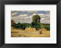 Framed Harvest, 1876