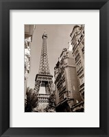 Framed Eiffel Tower Street View #1