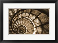 Framed Spiral Staircase in Arc de Triomphe