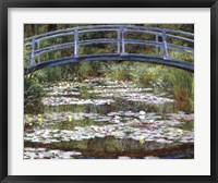 Framed Japanese Footbridge, 1899