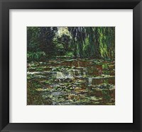 Framed Bridge Over the Water Lily Pond, 1905