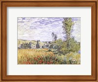 Framed Landscape at Vetheuil