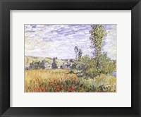 Framed Landscape at Vetheuil