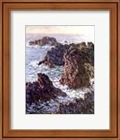 Framed Rock Points at Belle-Ile, 1886