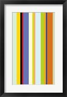 Framed Paprika Stripe