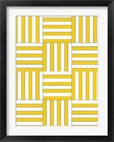 Framed Checkerboard Key