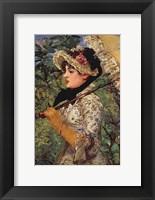 Framed Jeanne