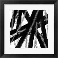 Unzipped Framed Print