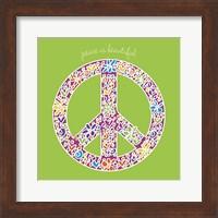Framed Peace is Beautiful