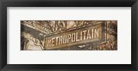 Framed Metropolitan