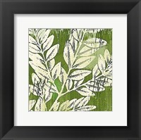 Meadow Leaves Framed Print