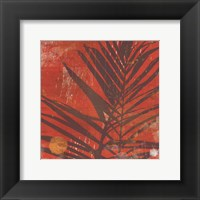 Framed Exotic Palm
