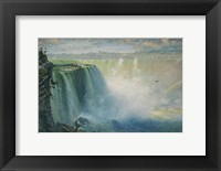Framed Blue Niagara, 1884