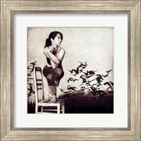 Framed Garudasana