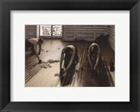 Framed Floor Scrapers [Raboteurs de parquet], 1875
