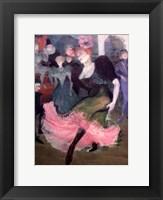 Framed Marcelle Lender Dancing Bolero