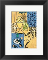 Framed Interior in Yellow and Blue, 1946