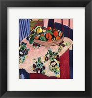 Framed Basket with Oranges