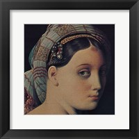 Framed Grand Odalisque (detail)