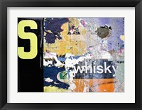 Framed Whisky Layers