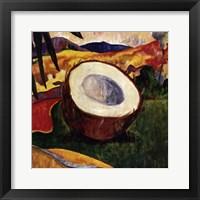 Framed Coconut