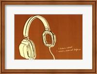Framed Lunastrella Headphones