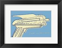 Framed Lunastrella Raygun No. 2