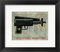 Framed Blackstar Ray Gun