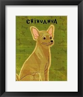 Framed Chihuahua (tan)