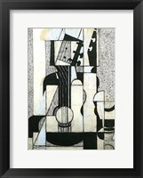 Framed Still Life with Guitar