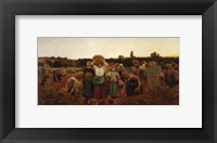 Framed Return of the Gleaners, 1859