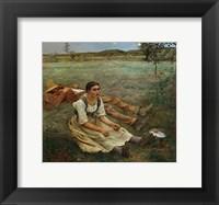 Framed Hay Harvest, 1877