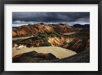 Framed Iceland 200