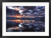 Framed Icelandic Sunset