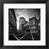 Framed London City Lines