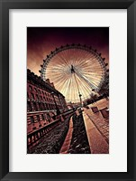 Framed London Eye