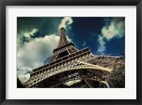 Framed Eiffel Tower (horizontal)