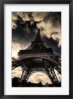 Framed Eiffel Tower (vertical)