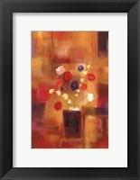 Framed Welcoming Flowers II