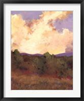Framed Mountain Meadow II