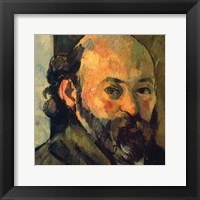 Framed Self-Portrait, 1879-1882 (detail)