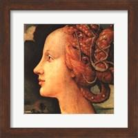 Framed Portrait of Simonetta Vespucci (detail)
