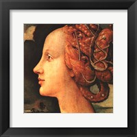 Framed Portrait of Simonetta Vespucci (detail)