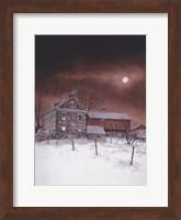 Framed Oley White