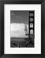 Framed Golden Gate Fog
