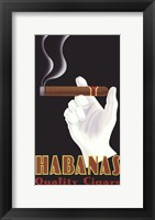 Framed Habanas Quality Cigars