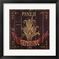 Framed Semolina